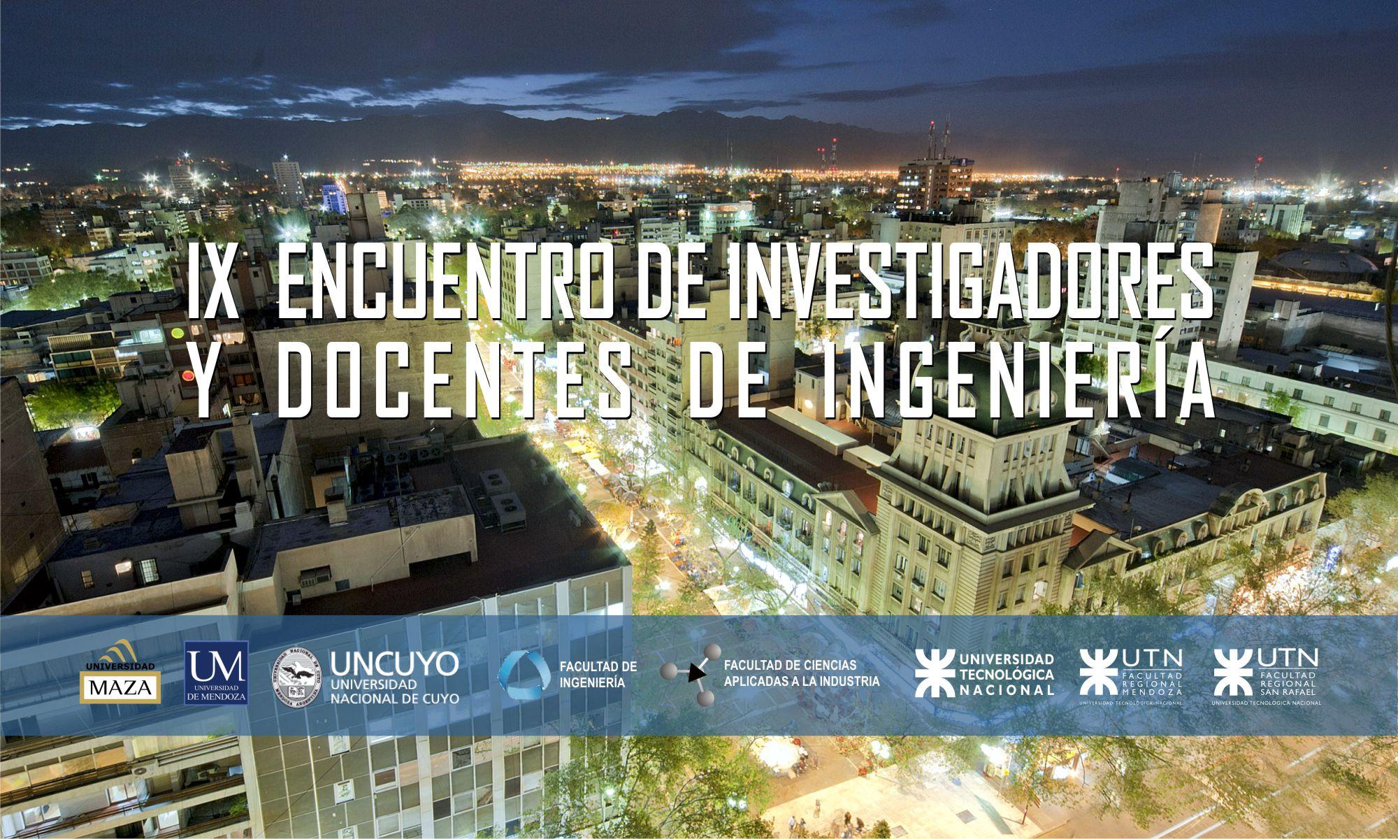 IX  ENIDI (Encuentro Nacional de Docentes Investigadores)